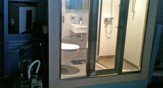 Prefab badkamer van Biocompact - WoonwijzerwinkelWoonwijzerwinkel