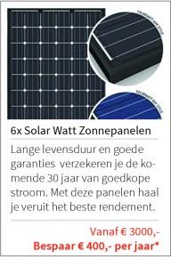 Aanbieding Maassluis Solar Watt