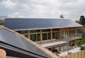 SunPower Solrif totaaldak voorbeeld