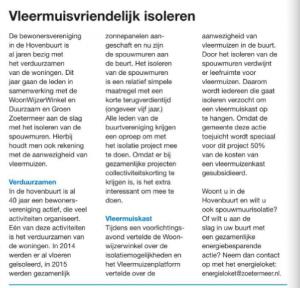 artikel in de krant zoetermeer