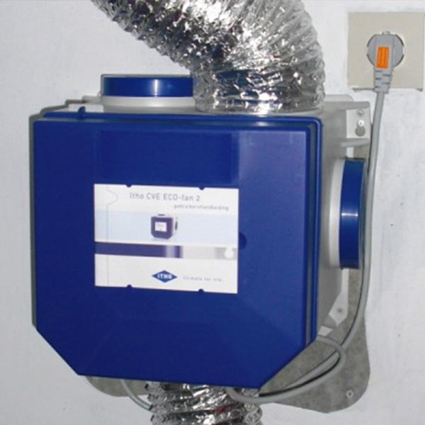 Ventilatie-unit-Vierkant