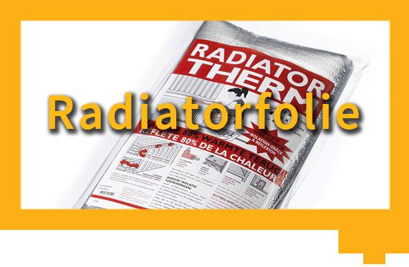 Aanbiedingsbutton radiatorfolie