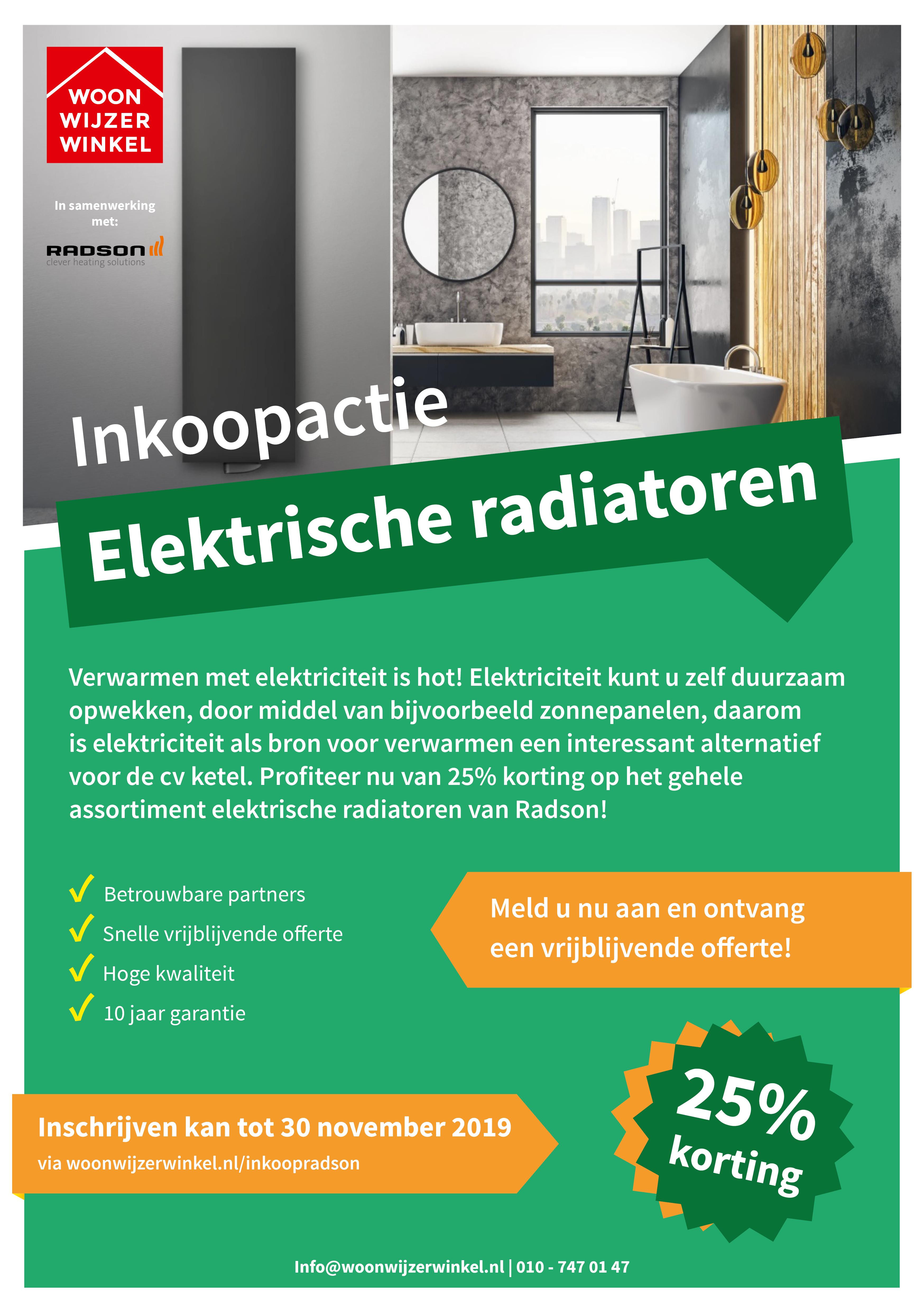 20191011 Inkoopactie Radson flyer