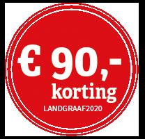 LANDGRAAF_korting_negentig_rood