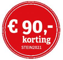 STEIN_korting_negentig_rood